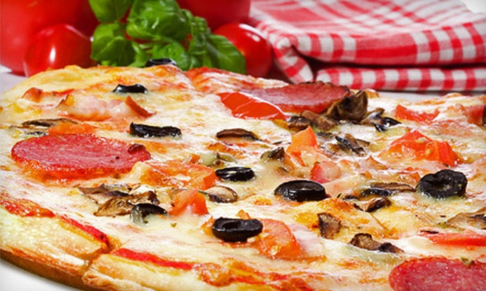 Pizza Champions - Arden Hills - Shoreview: 1 or 10 16-Inch Specialty Pizzas at Pizza Champions in New Brighton (Up to 62% Off)