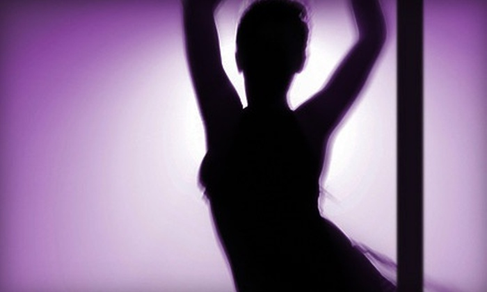 Romance and Dance Pole Aerobics - Multiple Locations: Three or Eight Pole-Dancing Classes or 30 Days of Unlimited Classes at Romance and Dance Pole Aerobics (Up to 80% Off)