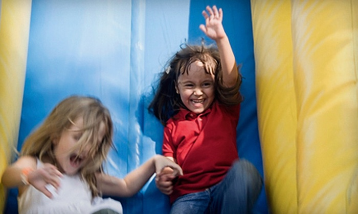 Screamin' Parties - Multiple Locations: *KD2* $29 for 5 Two Hour Bounce Passes ($65 Value)
