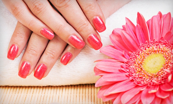 Salon Sophia - Downers Grove: One or Three No-Chip Gel Manicures, or a Classic Manicure and Pedicure at Salon Sophia (Up to 54% Off)