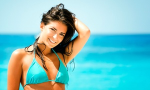 Simple as 1, 2, Tan: One Month of Unlimited Level Two Tanning or Two Mystic HD Spray Tans at Simple as 1, 2, Tan (Up to 52% Off)