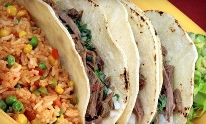 Los Jimadores Tex-Mex Tequila Factory - Bedford: $10 for $20 Worth of Tex-Mex Food at Los Jimadores Tex-Mex Tequila Factory