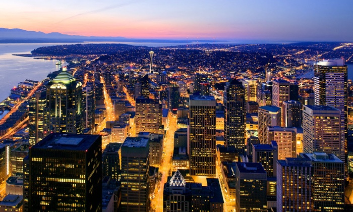 Sky View Observatory - Downtown: $12.50 for Sky View Observatory Visit for Two ($25 Value)