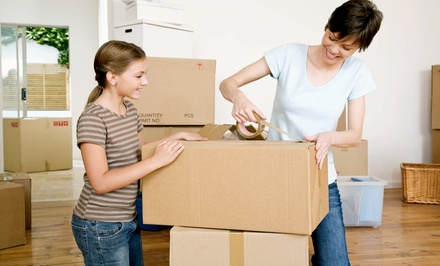 $240 for Four Hours of Moving Service with Truck and Three Movers from Papillon Moving ($500 Value)