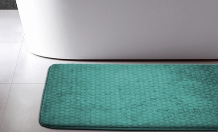 Memory Foam Honeycomb Bath Mats