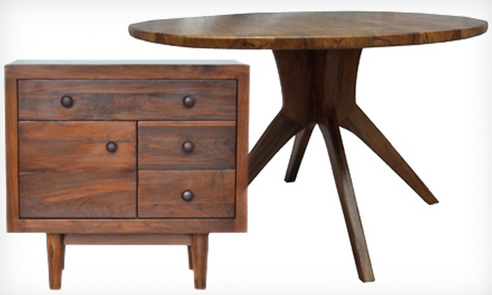 Teak Me Home - Emeryville: $75 for $200 Toward Teak Furniture from Teak Me Home