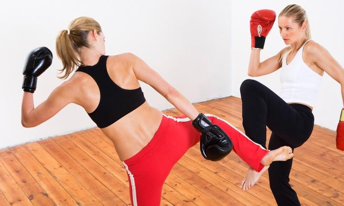 Gladiator Brazilian Jiu-jitsu & Fitness - Hendersonville: Four Weeks of Unlimited Boxing or Kickboxing Classes at Gladiator Brazilian Jiu-Jitsu & Fitness (47% Off)