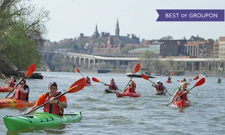 Unlimited Kayak & Paddleboard Rentals for First-Time Season Pass-Holders at Boating in DC (35% Off). 3 Locations.