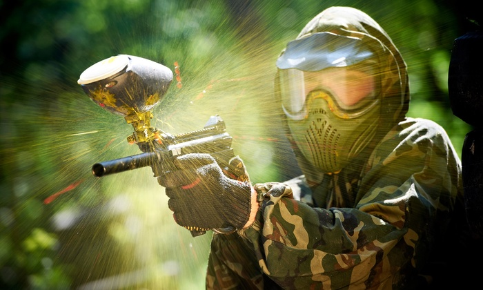Splat Action Paintball Park - Colton: All-Day Paintball Package for Two, Four, Six, or Eight at Splat Action Paintball Park (Up to 70% Off)