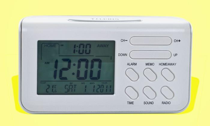 Talking Travel Digital Alarm Clock: Talking Travel Digital Alarm Clock.