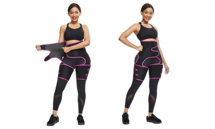 Three-in-One Thigh Trimmer, Waist Trainer and Hip Raise