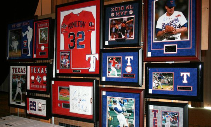 CSD Sports Framing & Memorabilia - West Carrollton: $39 for $125 Worth of Custom Framing at CSD Sports Framing & Memorabilia