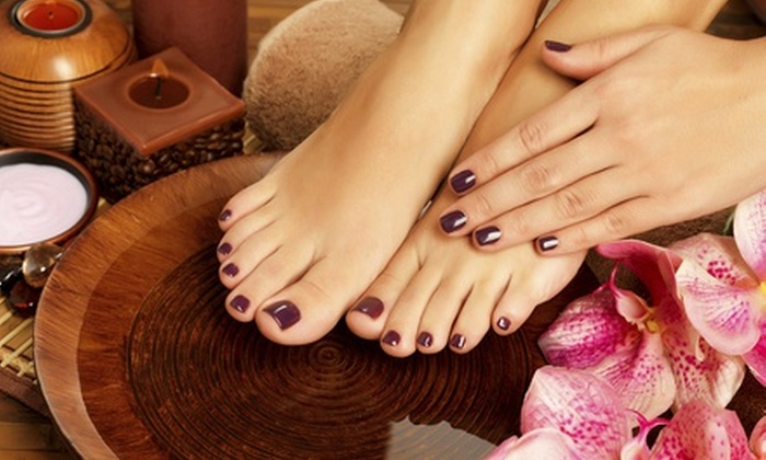 The Retreat Salon & Day Spa - Avery Road Retail Center: $36 for Honey-and-Tea Pedicure with Foot Mask, Fruit, Parfait, and $20 Credit at The Retreat Salon & Day Spa ($95 Value)