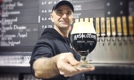 Beer Tasting for Two, Four, or Six at Absolution Brewing Company (Up to 57% Off)