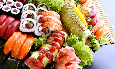 [Japanese and Chinese Fusion at Omoto Garden (Up to 50% Off). Two Options Available. Image]