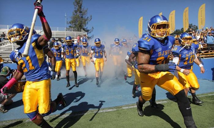 San Jose State Spartans Football - SJSU Spartan Stadium: $11 to See a San Jose State Football Game at Spartan Stadium on November 17 or 24 (Up to $20.90 Value)