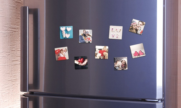 Personalised Magnets in Choice of Size: 9 (from $4.99), 18 (from $10.99) or 27 (from $15.99) (Dont Pay up to $134.70)