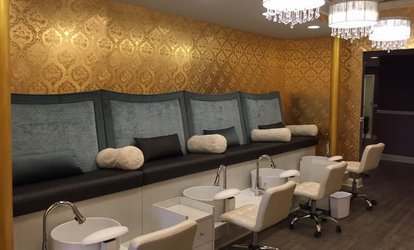 image for Luxury Spa Pedicures at Wings of Fancy Day Spa (Up to 45% Off)
