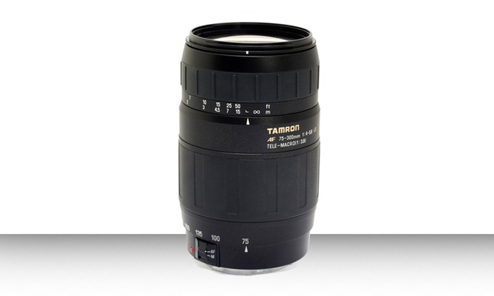 Tamron 75-300mm f/4-5.6 Lens or Lens Kit: Tamron 75-300mm f/4-5.6 Lens with a 6-Year Warranty or an Accessory Kit. Free Shipping and Returns.