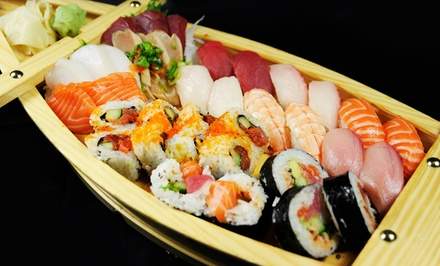 $18 for $30 Worth of Sushi, Noodles, and Japanese Food at Wasabi Sushi Bar