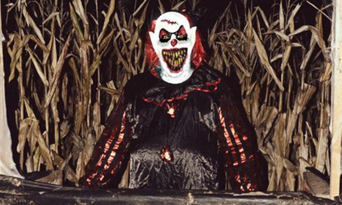 C.O.R.N. - Higginsville: $9 for Admission for Two to Haunted Corn Maze at C.O.R.N. ($18 Value)