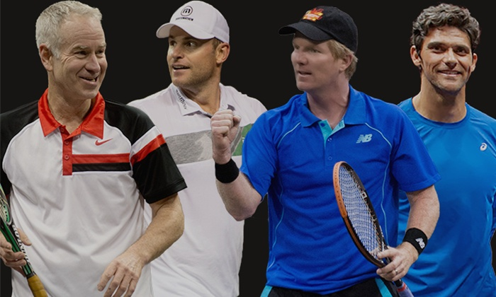 BOK Center - BOK Center: PowerShares Series Tennis Event Featuring John McEnroe and Andy Roddick on Saturday, April 23, at 7 p.m.