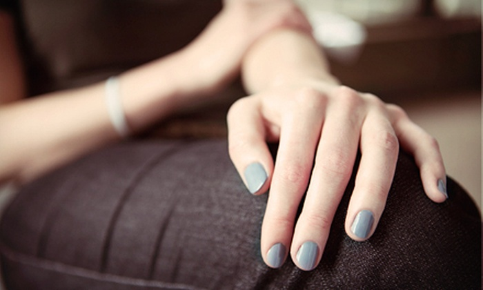 Perfect Ten Nail Salon - Lakeview: $37 for a Shellac Manicure and a Spa Pedicure at Perfect Ten Nail Salon ($77 Value)