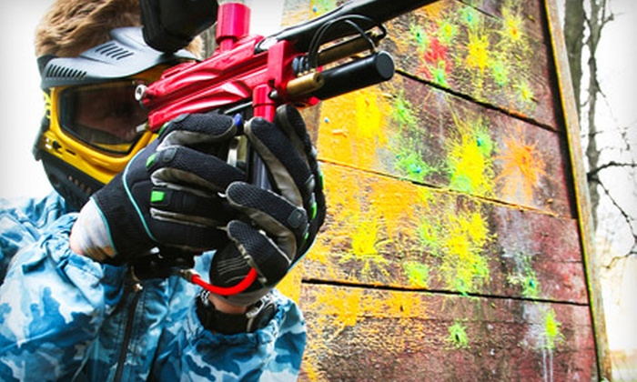 Brothers Paintball - Waimanalo: Paintball Package with Gear, Unlimited Air, and Paintballs for Two, Four or Six at Brothers Paintball (Up to 58% Off)