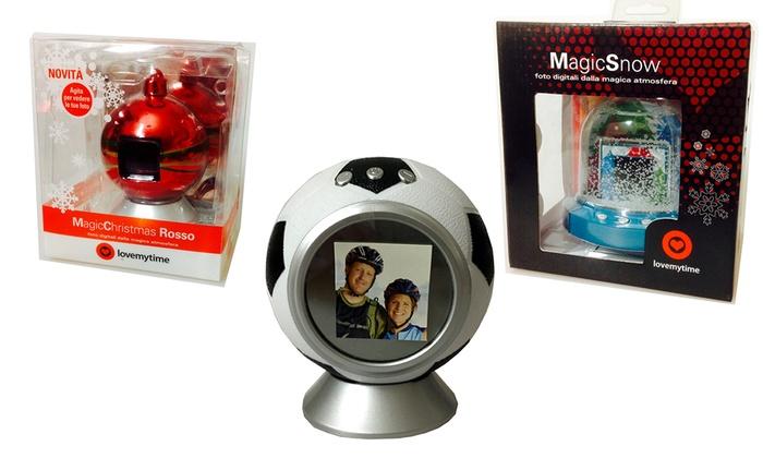 Pallina Natale Con Foto Digitale.Palline Di Natale Con Schermo Lcd Groupon Goods