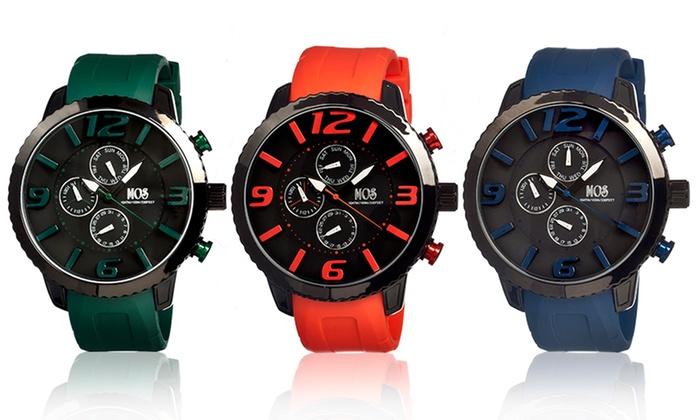 MOS Milan Men's Stainless Steel Watch: MOS Milan Men's Stainless Steel Watch. Multiple Options Available.