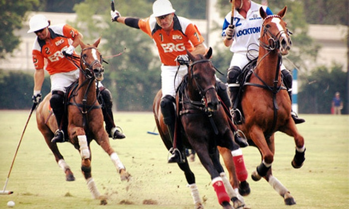 Houston Polo Club - Houston Polo Club: Viewing of Polo Match for Two or Four at Houston Polo Club (Half Off)