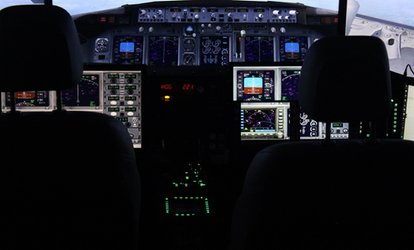 image for Up to 42% Off Flight Simulation class  at fsx chicago