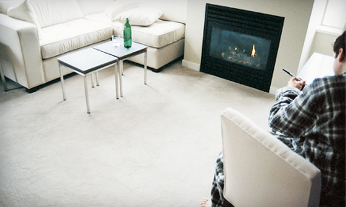 Sooner Steam Clean - Brookside: Three or Four Rooms of Carpet Cleaning from Sooner Steam Clean (72% Off)