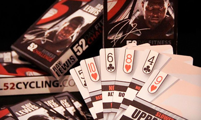 The Ray Lewis 52 Day Fitness Challenge: $35 for The Ray Lewis 52-Day Fitness Challenge with Deck of FitnessCards and Workout Plan ($74.95 Value)