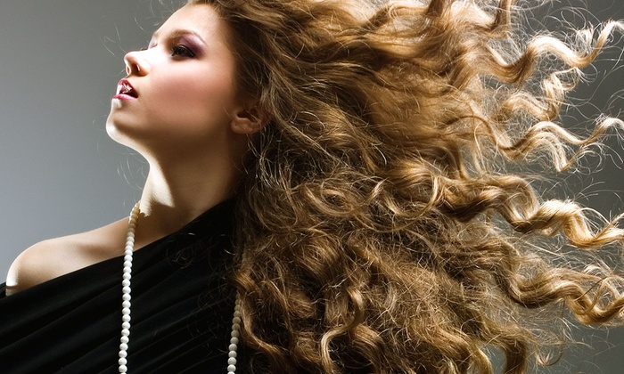 XEX Hair Gallery - XEX Hair Gallery: Haircut, Blow-Dry, and Style with Optional Partial or Full Highlights at XEX Hair Gallery (Up to 52% Off)