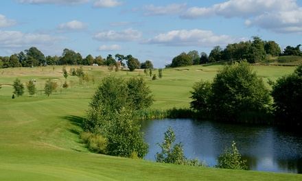 18 Holes of Golf for Two or Four at Godstone Golf Club (Up to 65% Off)