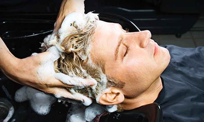 Old South Barber Spa - French Quarter: $32 for Men's Haircut and Scalp Massage at Old South Barber Spa (Up to $65 Value)