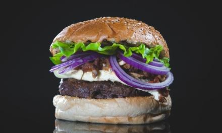 Menú para 2 o 4 con entrantes a compartir, hamburguesa, postre y bebida desde 19,95 € en Pantin Grill