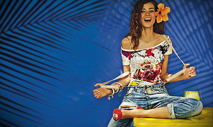 Desigual - Multiple Locations: $40 for $80 Worth of Designer Clothing and Accessories from Desigual
