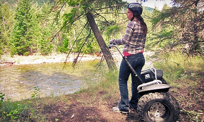 Shuswap Unique Adventure Tours - Scotch Creek: $50 for a Coyote Bluffs Segway PT Tour for Two from Shuswap Unique Adventure Tour ($110 Value)