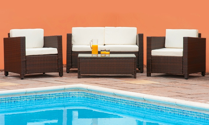 sleep softly ltd roma or tuscany rattan garden furniture set from 17999 with free