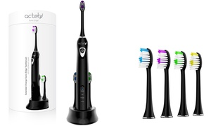 Sonic Edge Extended Charge Toothbrush with 4 Heads at Sonic Edge Extended Charge Toothbrush with 4 Heads, plus 6.0% Cash Back from Ebates.