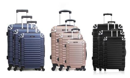 Set di 3 valigie in ABS Bluestar Lima disponibile in vari colori