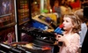 GameRoom - Sawgrass Mills: $22 for Two Hours of Unlimited Arcade Gaming for Two at GameRoom ($46.40 Value)