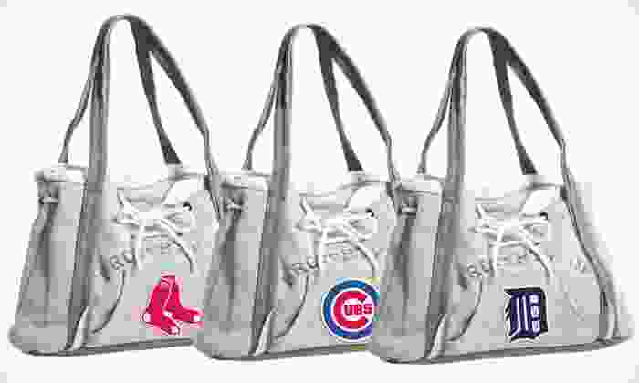 Little Earth MLB Hoodie Handbags: $19.99 for a Little Earth MLB-Licensed Hoodie Handbag ($30 List Price). All Teams Available. Free Shipping and Returns.