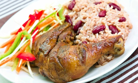 Jamaican Cuisine at Jamaican Paradise (50% Off). Two Options Available.