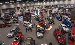 Cincinnati Auto Expo: Entry for Two or Four to Cincinnati Auto Expo (50% Off)