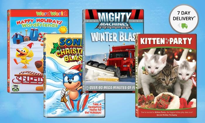Ncircle Holiday Fun 4-DVD Bundle: Ncircle Holiday Fun 4-DVD Bundle. Free Shipping and Returns.