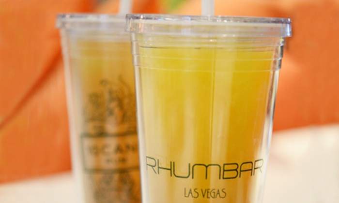 Rhumbar - The Strip: $20 for Two Classic Cocktails in Souvenir Cups at Rhumbar ($40 Value)