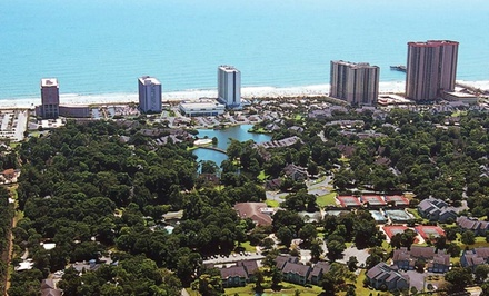 Stay at Kingston Plantation Resort in Myrtle Beach, SC. Dates into June.